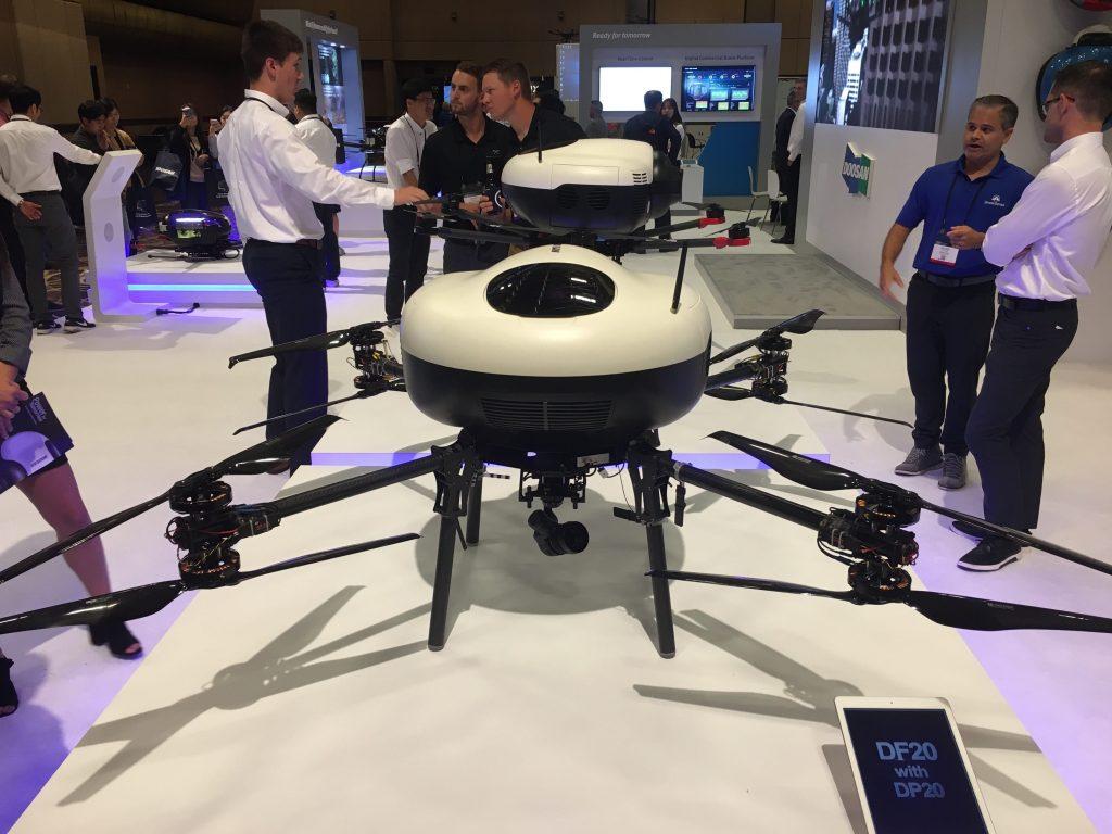 doosan drone interdrone