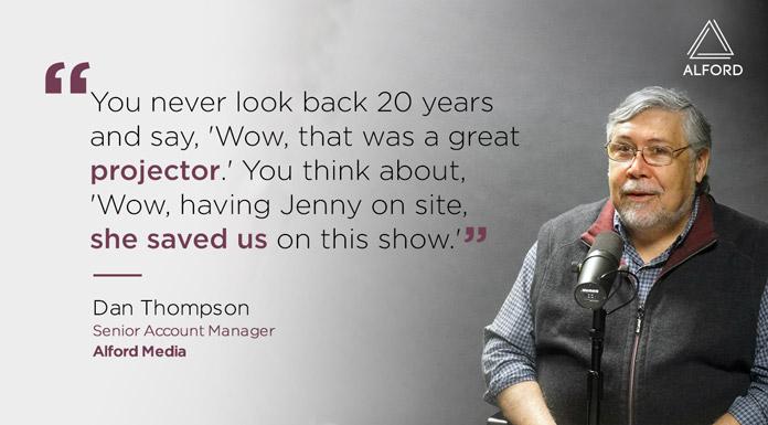 Dan Thompson says