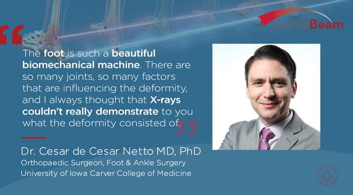 Dr. Cesar de Cesar Netto MD, PhD says