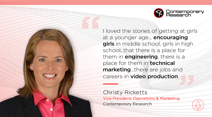 Christy Ricketts talks
