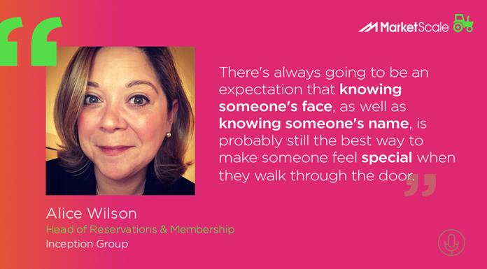 Alice Wilson says