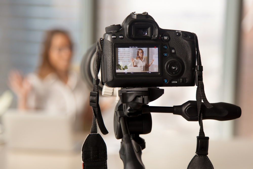 interview camera angle