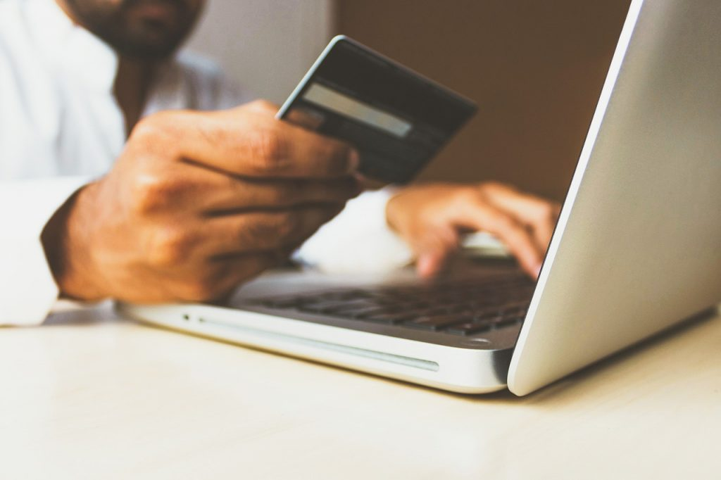 Paying for items online