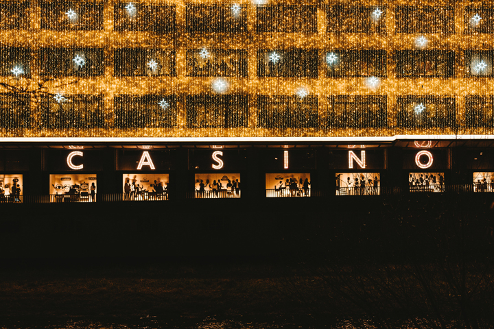 The Outside of a Casino