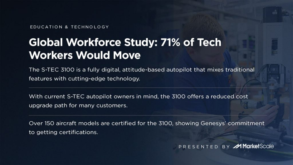 71% of Tech Workers Would Move
