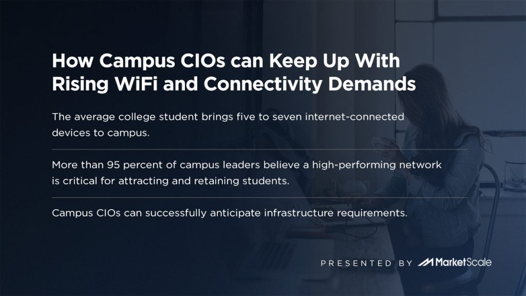 How Campus CIOs can Keep Up With Rising WiFi and Connectivity Demands