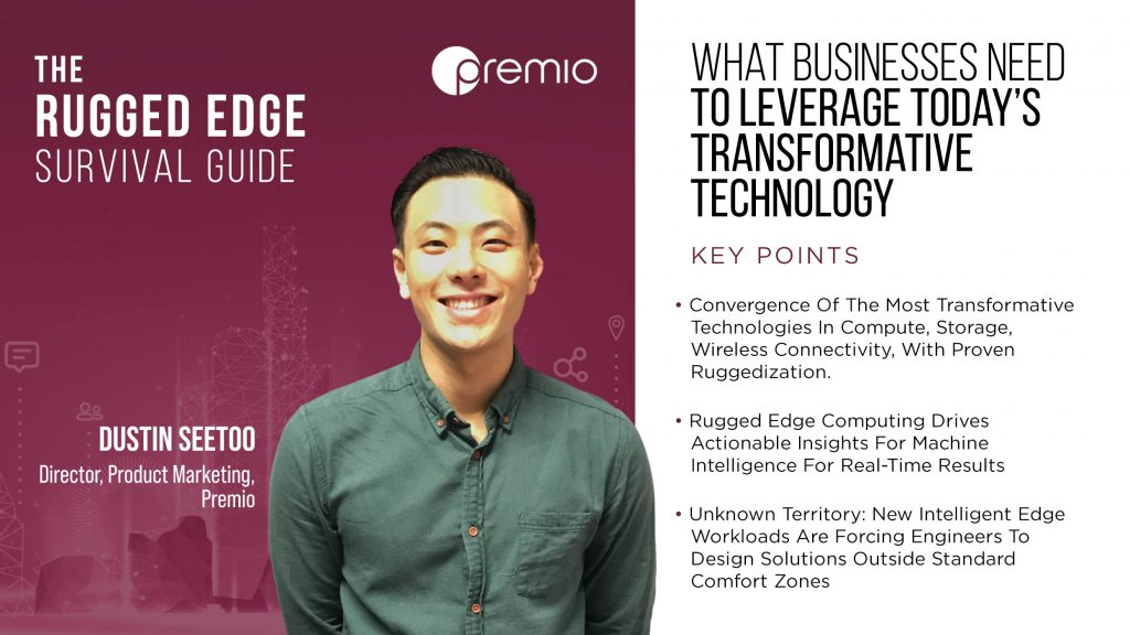 What Businesses Need to Leverage Today's Transformative Technology