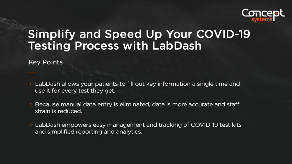 Simplify and Speed Up Your COVID-19 Testing Process with LabDash