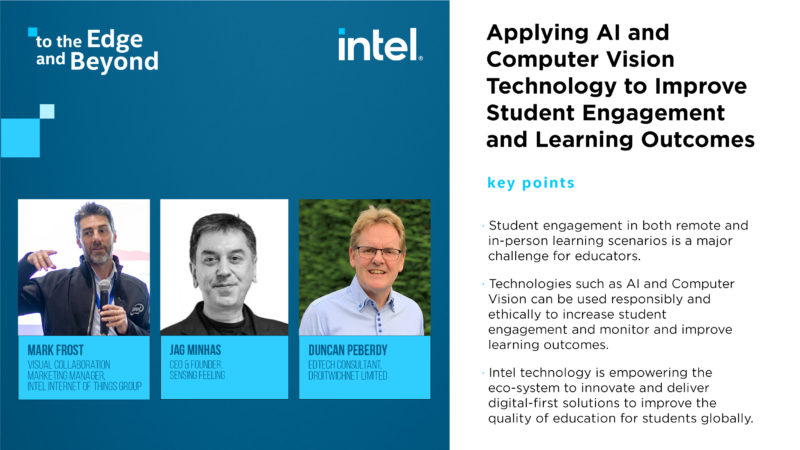 : Applying AI and Computer Vision Technology to Improve Student Engagement and Learning Outcomes
