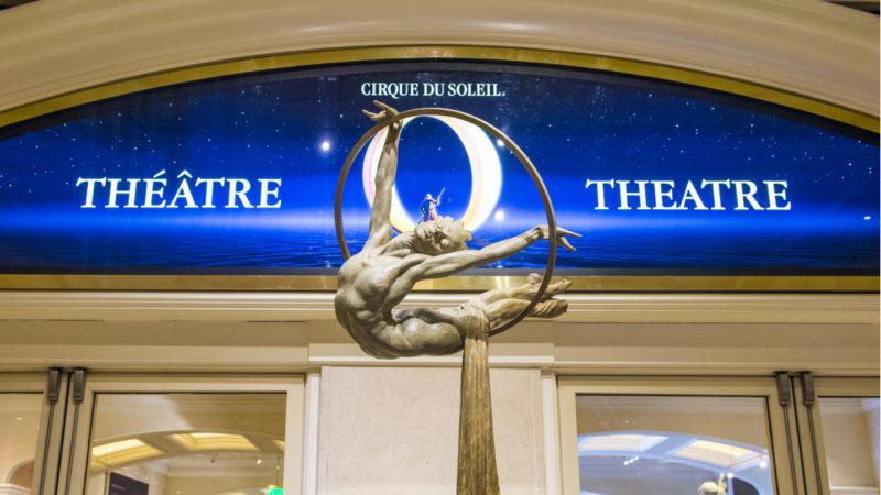 Cirque du Soleil Reopens Vegas Shows in Sign of Vaccine Optimism