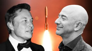 What is the Difference between SpaceX and Bezos' Blue Origin?