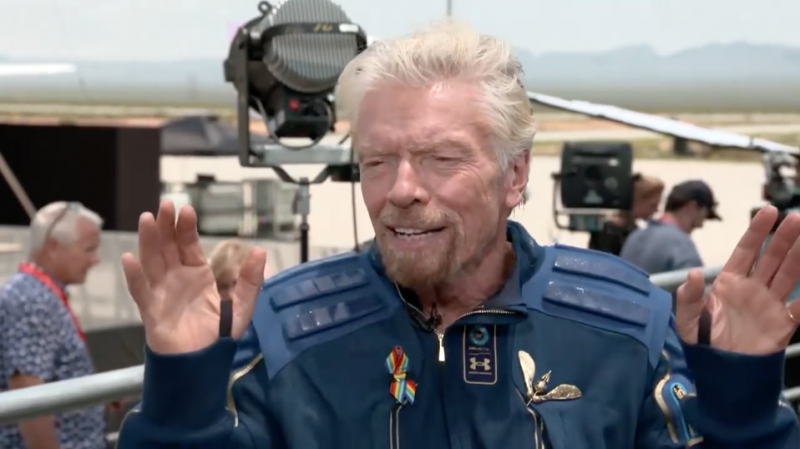 Richard Branson Reflects on Being in Space, What it Means for Virgin Galactic's Future