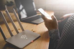 Fiber Network in Use